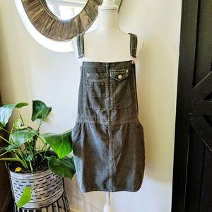 ASOS cord overall dress